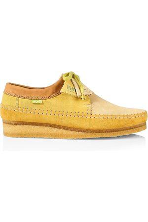 Clarks Men's Levi's Vintage Clothing x Clarks Weaver Suede Low Desert Boots - Combo - Size 10