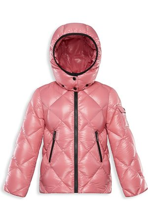 Moncler Little Girl's & Girl's Kamile Quilted Down Coat - - Size 5