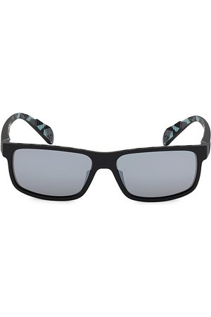 Adidas Men's 58MM Square Injected Sunglasses