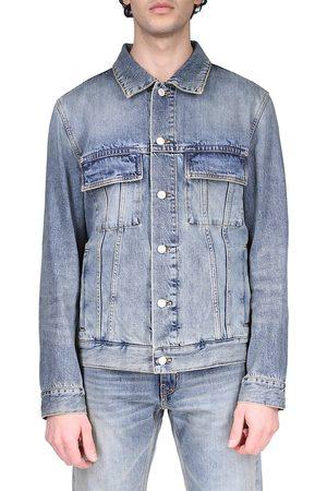 Givenchy Men's Classic Fit Denim Jacket - Medium - Size Small