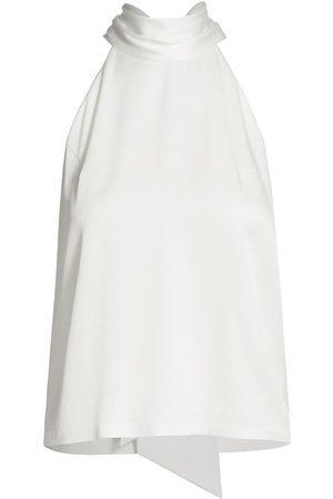 GALVAN Women's Silk Sash-Neck Tunic - - Size 4