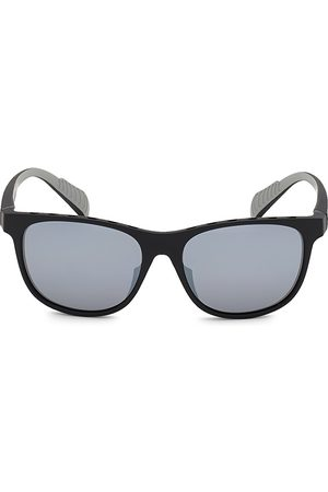 Adidas Men's 55MM Square Injected Sunglasses