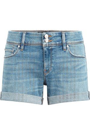 Hudson Women's Croxley Cuffed Denim Shorts - - Size 31