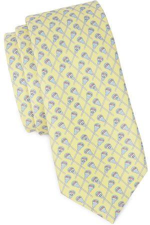 Vineyard Vines Boy's Lacrosse Print Tie
