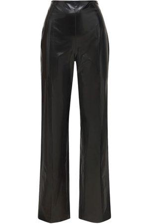 Nanushka Maggie Faux Patent Leather Pants