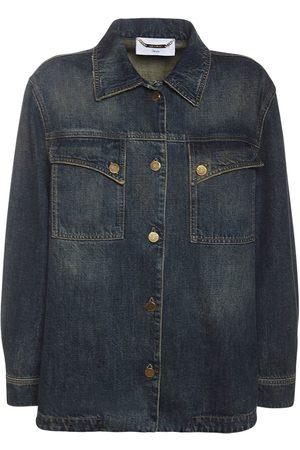 Alberta Ferretti Cotton Denim Jacket