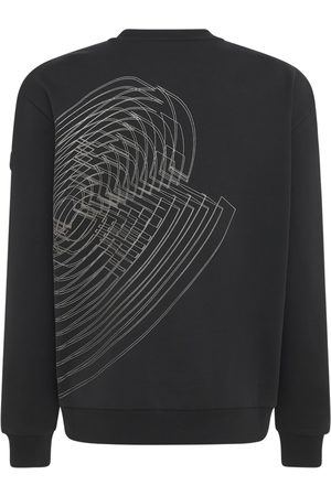 Moncler Brushed Cotton Fleece Sweatshirt