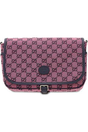 Gucci Gg Supreme Cotton Blend Messenger Bag