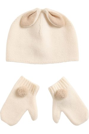 Il gufo Virgin Wool Hat & Gloves