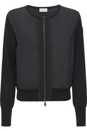 MONCLER Cardigan Ruffled Jacket
