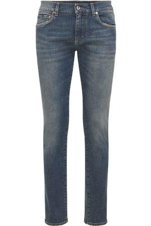 Dolce & Gabbana Stonewashed Stretch Denim Jeans