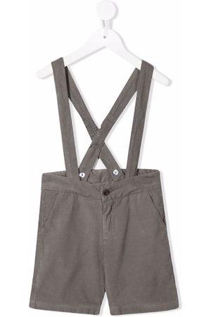 KNOT Nobu dungaree shorts - Grey