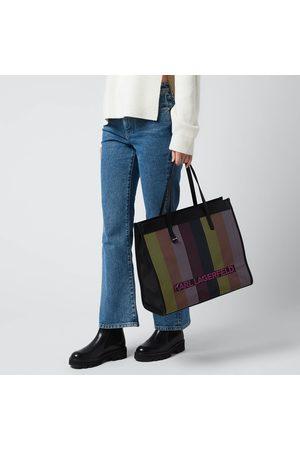 Karl Lagerfeld Women's K/Skuare Large Biarritz Tote Bag
