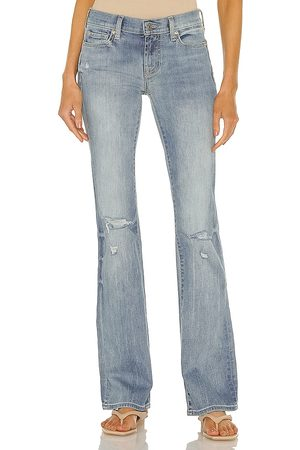 7 for all Mankind Original Bootcut Jean in Blue.
