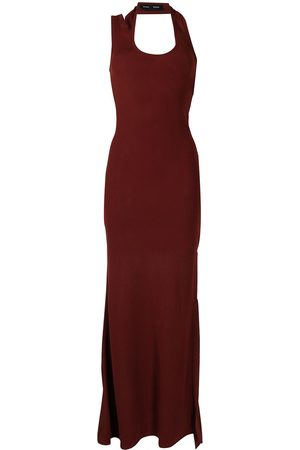 Proenza Schouler Asymmetric halterneck dress