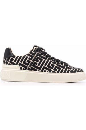 Balmain Women Sports Shoes - B-Court lace-up sneakers