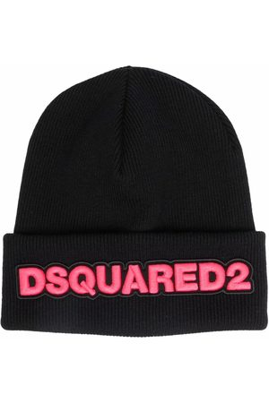 Dsquared2 Logo-embroidered beanie