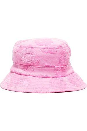 Frankies Bikinis Jax floral-jacquard bucket hat