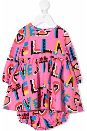 Stella McCartney Kids Stella Loves twill dress