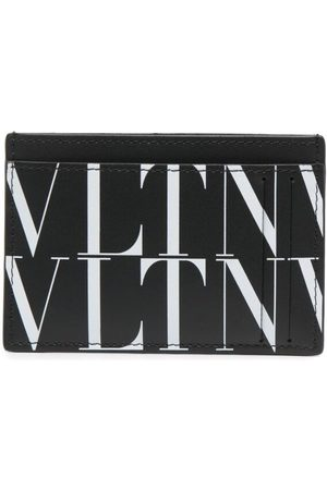 VALENTINO GARAVANI Men Wallets - VLTN print cardholder