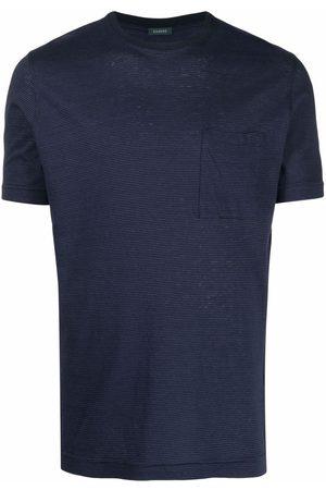 ZANONE Chest-pocket striped T-shirt