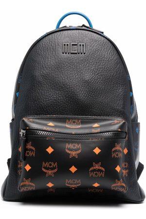 MCM Monogram-print zip-fastening backpack