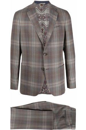 ETRO Two-piece plaid suit