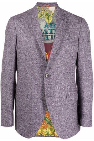 Etro Single-breasted blazer jacket