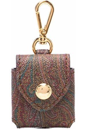Etro Women Keychains - Paisley-print keyring