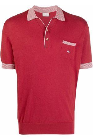 Etro Striped-edge polo shirt