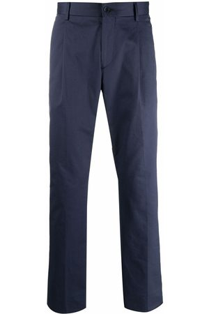 Etro Men Formal Pants - Tailored stretch-cotton trousers