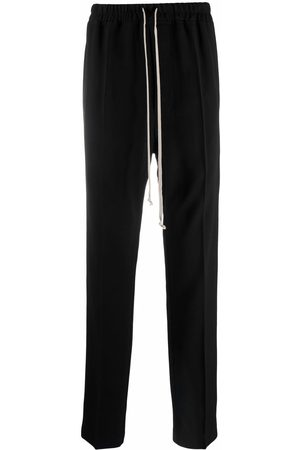 Rick Owens Drawstring-fastening tailored trousers