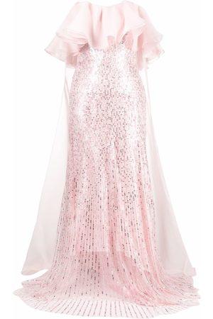 Jenny Packham Marguerite strapless gown