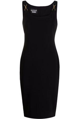 Boutique Moschino Women Party Dresses - Horsebit-detail cady dress