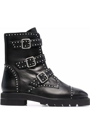 Stuart Weitzman Women Ankle Boots - Stud-embellished ankle boots
