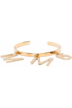 MM6 MAISON MARGIELA Logo-plaque cuff bracelet