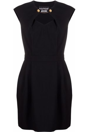 Moschino Cut-out stretch-fit dress