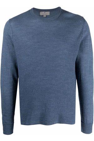 CANALI Men Sweatshirts - Crewneck wool jumper