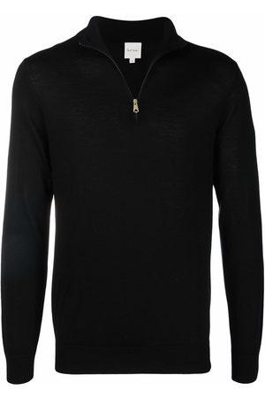 Paul Smith Men Sweatshirts - Fine-knit bright-stripe zipped jumper