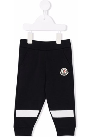 Moncler Baby Sweatpants - Logo-patch track trousers
