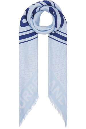 Burberry Logo graphic-print scarf