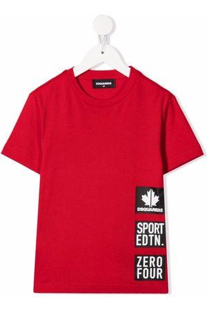 Dsquared2 Maple-leaf print T-shirt