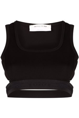 1017 ALYX 9SM Open-back cropped top