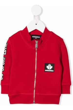 Dsquared2 Kids Maple-leaf bomber jacket