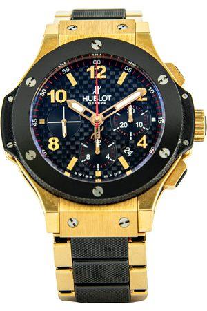 HUBLOT 18K Yellow Gold Big Bang Men's Wristwatch 42 MM