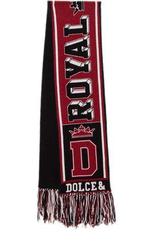 Dolce & Gabbana & Black Royal Love Cashmere Muffler