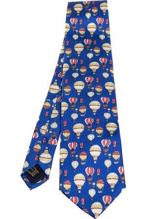 Gucci Hot Air Balloon Print Silk Tie