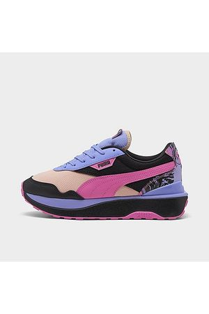 PUMA Women's Cruise Rider Marble Casual Shoes Size 6.0 Suede