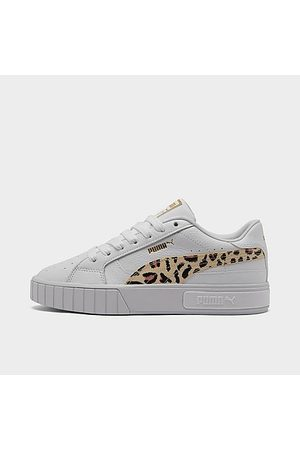 PUMA Women's Cali Star Leopard Casual Shoes in /Animal Print/ Size 7.5 Leather