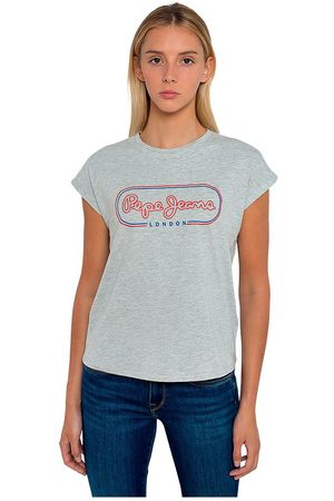 Pepe Jeans Carol Short Sleeve T-shirt XS Grey Marl